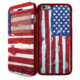 IPAINT - Doble Funda Imán - USA Iphone 6