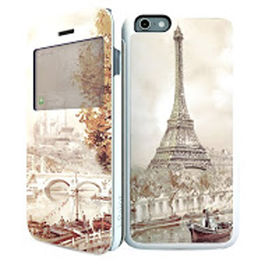 IPAINT - Doble Funda Imán - París iPhone 6 Plus