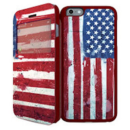 IPAINT - Doble Funda- USA iPhone 6 Plus