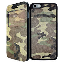 IPAINT - Doble Funda Imán - Camuflaje Iphone 6