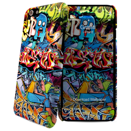 IPAINT - Carcasa + Skin - Graffiti Iphone 6