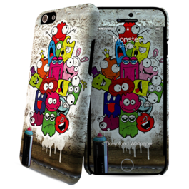 IPAINT - Carcasa + Skin - Monstruo Iphone 6