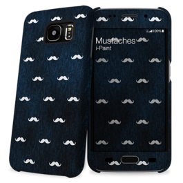 IPAINT - Carcasa + Skin - Mustaches SAMSUNG S6