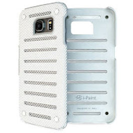 IPAINT - Funda Metal - Blanco S6 Edge