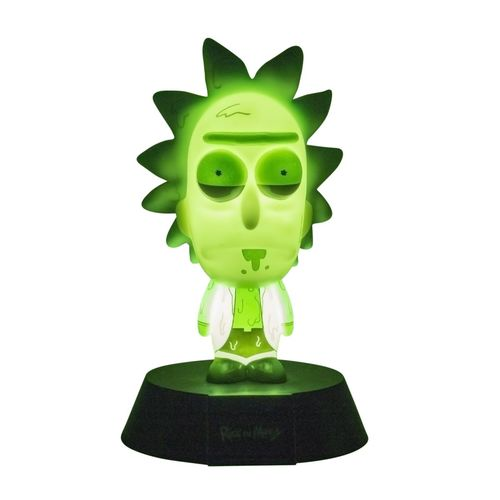 PAL - Lámpara Icon Rick & Morty Toxic