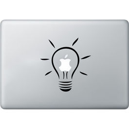Vinilo - Bombilla Macbook