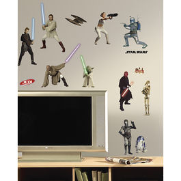 ROOM - STAR WARS  Precuelas (28 elementos )
