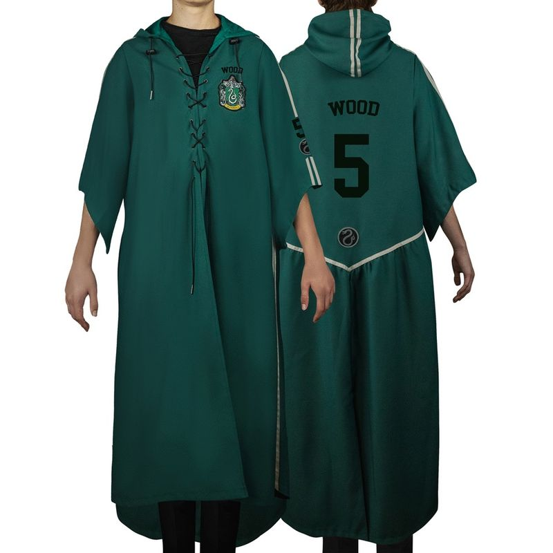 Túnica Quidditch Slytherin Personalizable M