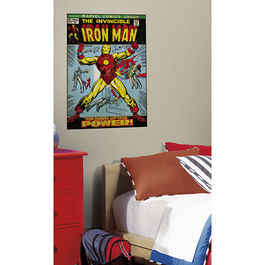 ROOM - Iron Man Portada Comic