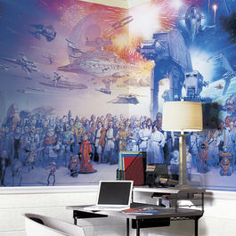 ROOM - STAR WARS Mural Saga