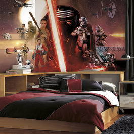 ROOM - STAR WARS Mural episodio VII