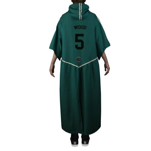 CNR - Túnica Quidditch Slytherin Personalizable M