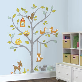 ROOM - Bosque fox y amigos arbol gigante