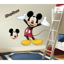 ROOM - Mickey Mouse solo Pegatina Gigante